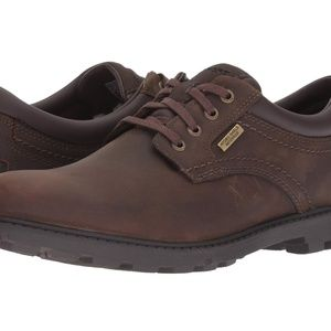 Rockport Rugged Bucks Waterproof Oxfords Brown